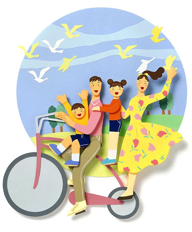 自転車の 自転車 写真 ブログ : ... ブログ 春のレジャー 自転車に