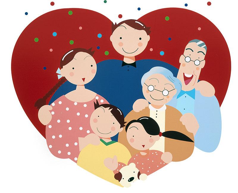 川野隆司 3世代家族、熟年夫婦も一緒にハートの中