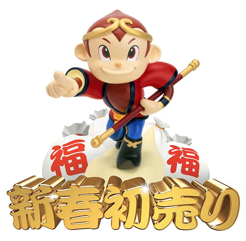 未来工房 福袋イラスト 猿(申)年のお正月は孫悟空で!