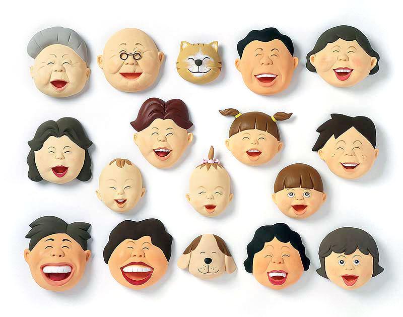高橋操 家族とみんなの笑顔が最高イラスト 家族・ファミリー・子どもイラスト