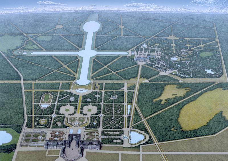 「ヴェルサイユ宮殿 イラスト」の画像検索結果