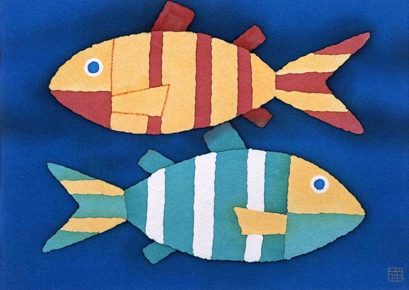 辻本洋太朗 カラフルでポップなお魚イラスト