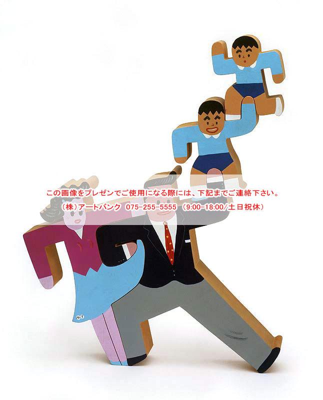 山口マサル ウッディ・ファミリーイラストレーション