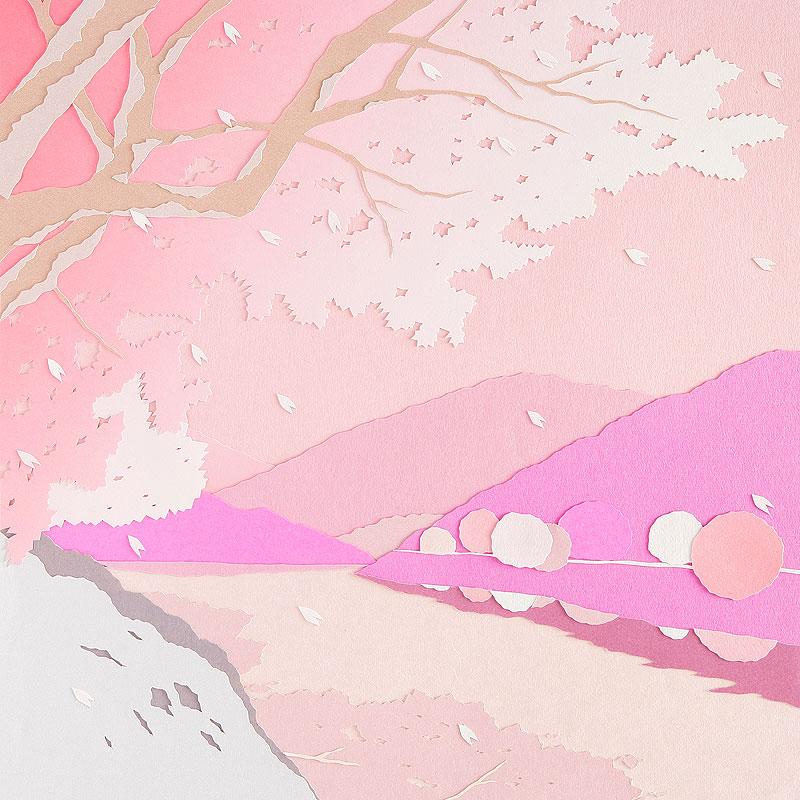 Pin 桜の花びらイラスト画像 春 ...