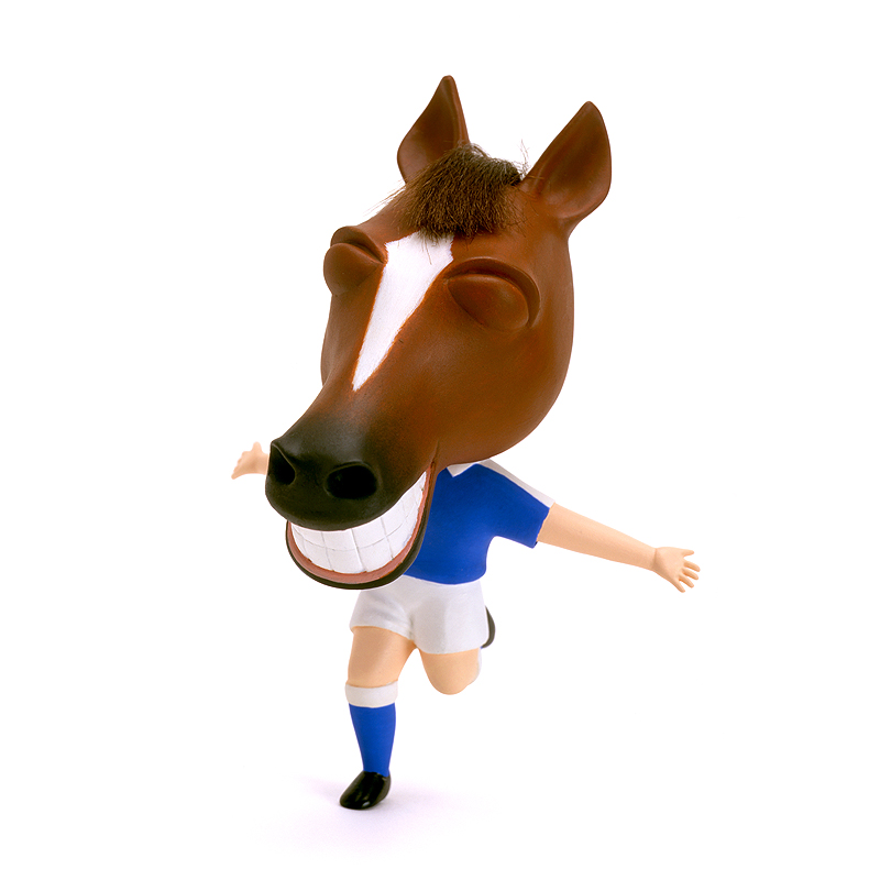 山岡敏和 2014年の干支「馬・午・うま」お正月&ワールドカップイラスト