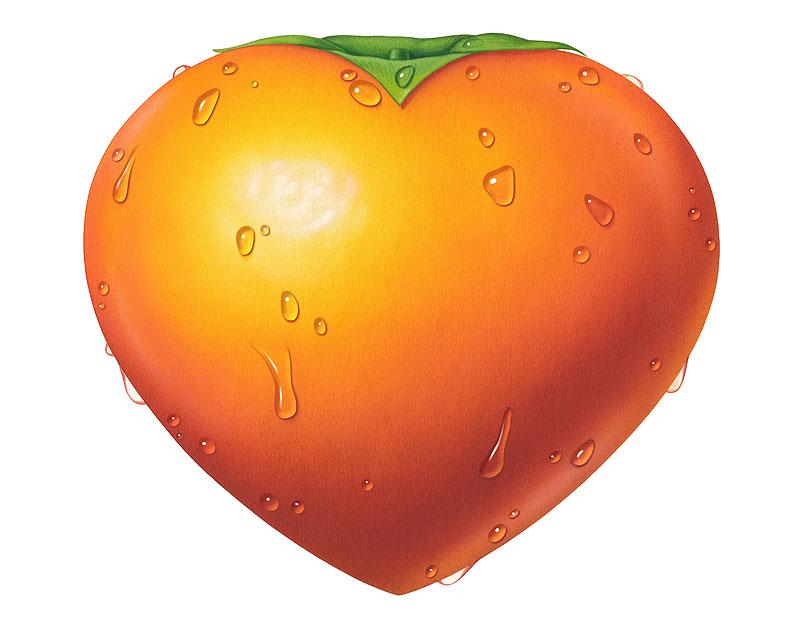 「柿 イラスト」の画像検索結果