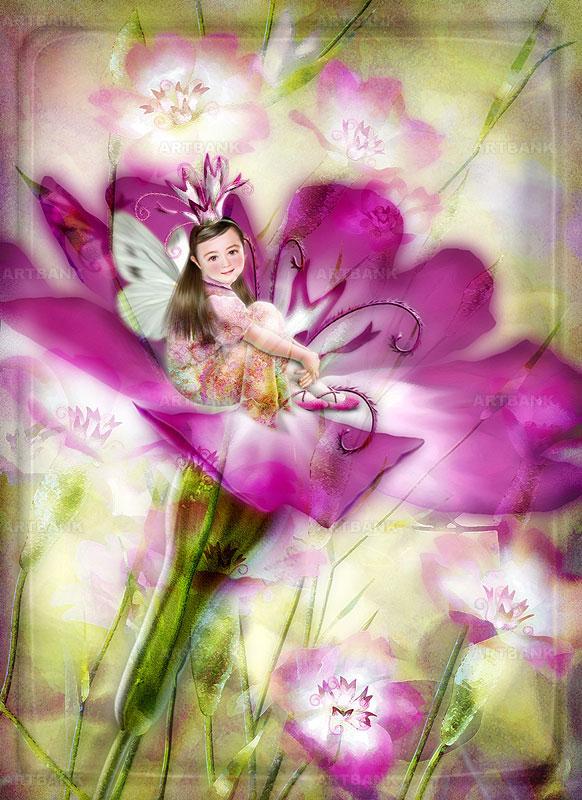 Цветочные эльфы от Йокота Михару